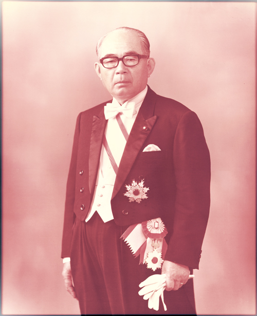 橋本 登美三郎 肖像