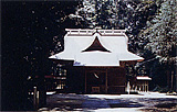 大生神社拝殿の外観