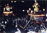 潮来祇園祭の風景