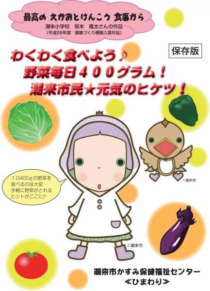 野菜400g冊子表紙