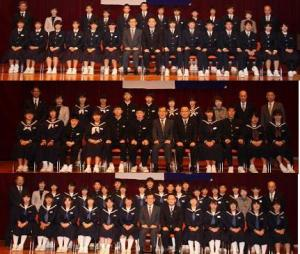 H30 児童生徒表彰 中学生