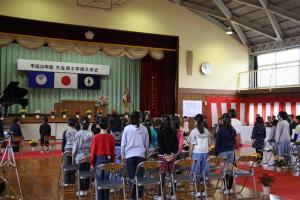 大生原小学校 入学式