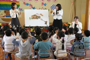 延方幼稚園 入園式2