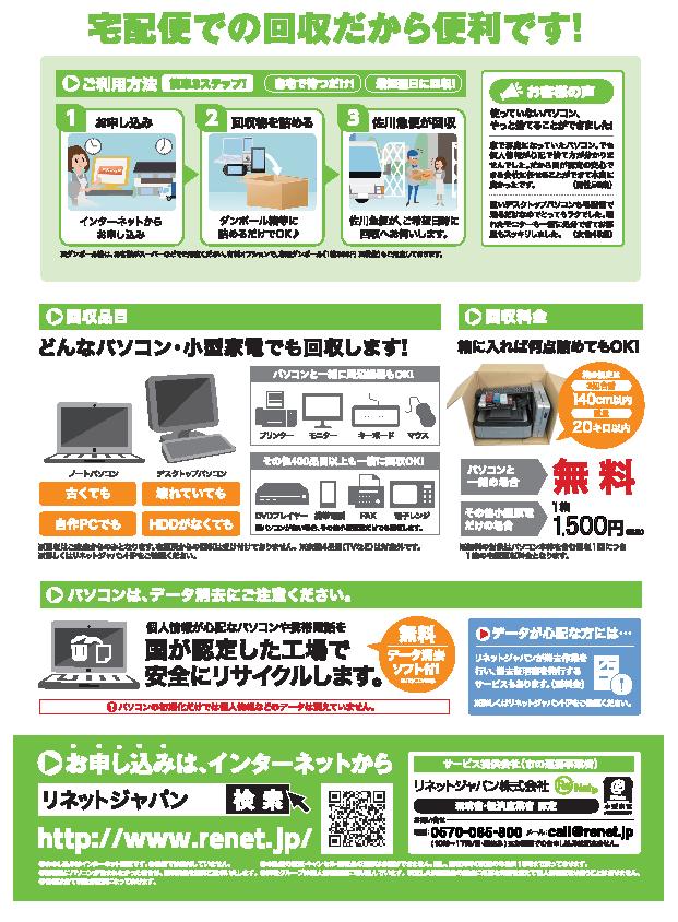 リネットジャパン株式会社協定(裏)