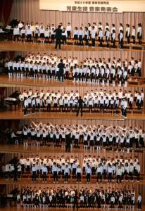 児童生徒音楽会 小学生(H30)