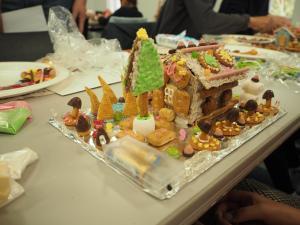 お菓子の家づくり7