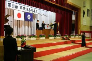 平成30年度 中学校卒業式(2)