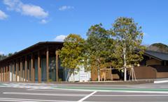 ビジターセンターの外観