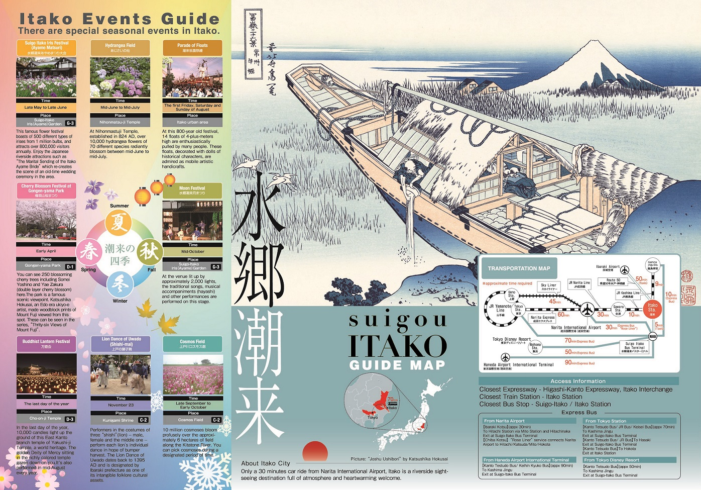 SUIGO ITAKO GUIDE MAP